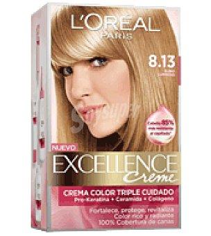 Excellence L'Oréal Paris Tinte creme nº 8.13 Rubio Luminoso 1 ud
