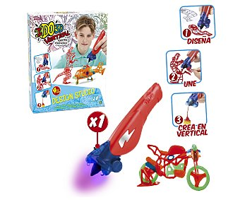 Giochi preziosi Estudio de diseño vertical en 3 dimensiones, incluye 4 bolígrafos I Do 3D 1 unidad