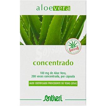 Santiveri Aloe vera concentrado cápsulas Envase 40 unidades