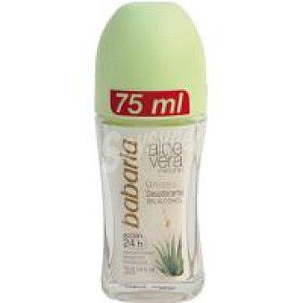Babaria Desodorante femenino de aloe vera 75 ml