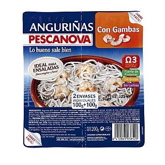 Pescanova Anguriñas con gambas Envase 200 g