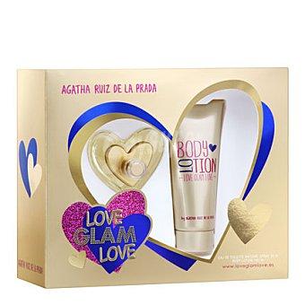 Ágatha Ruiz de la Prada Estuche colonia Love Glam Love spray 50 ml. + body lotion 100 ml. 1 ud