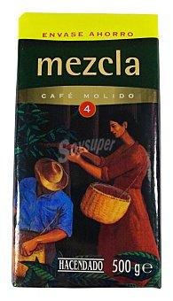 Hacendado Cafe molido mezcla Nº 4 (sabor Y cuerpo) Paquete 500 g