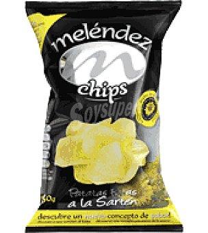 Melendez Patatas chips en aceite de girasol 150 g