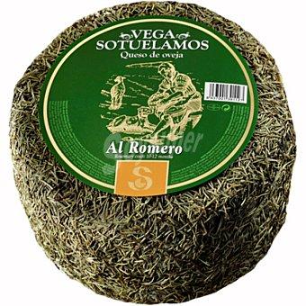 Vegasotuelamos Queso añejo de oveja al romero peso aproximado pieza 3 kg 3 kg