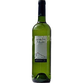 DONIENE Vino blanco txakoli fermentado en barrica Botella 75 cl