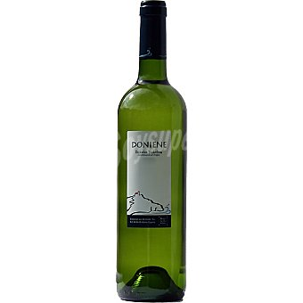 DONIENE Vino blanco txakoli fermentado en barrica botella 75 cl 75 cl