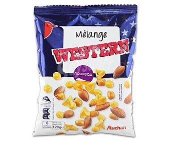 Auchan Mezcla de frutos secos western Bolsa de 120 g
