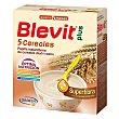 Papilla superfibra Plus 5 cereales a partir de 5 meses Caja 600 g Blevit
