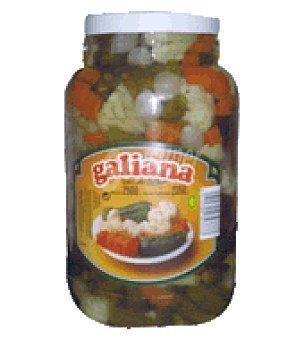 Galiana Aceitunas variantes p. escurrido 2500g p.neto 2750g p.bruto 3500g Tarro de 2500 gr