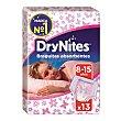 Braguitas absorbentes niña 8-15 años 13u DryNites