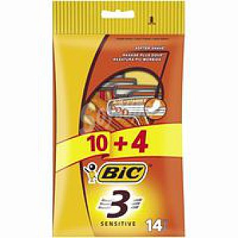 Bic Maquinilla desechable Pack 10+4 uds