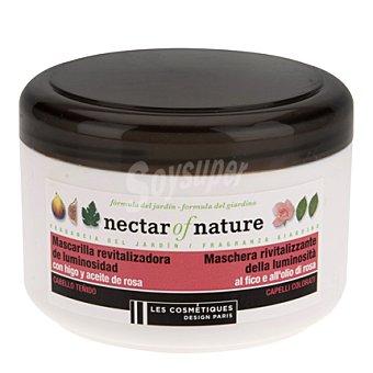 Les Cosmétiques Mascarilla Higo & rosa para cabello teñido - Nectar of Nature 400 ml
