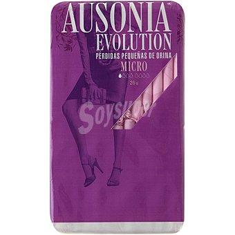 AUSONIA EVOLUTION Compresa de incontinencia micro para pequeñas pérdidas bolsa 26 unidades Bolsa 26 unidades