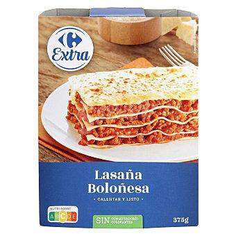 Carrefour Lasaña boloñesa Extra 375 g