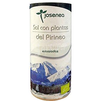 Josenea Sal con plantas del Pirineo especial ensaladas Bio  envase de 100 g