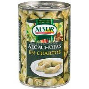 Alsur Alcachofa en cuartos Lata 240 g
