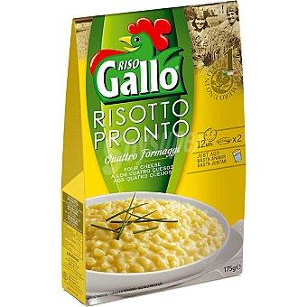 Riso Gallo Risotto Pronto 4 quesos Caja 175 gramos