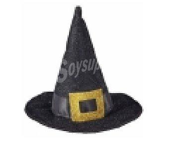 WIDMANN Complemento para disfraz de Halloween, Mini sombrero de bruja 1 unidad