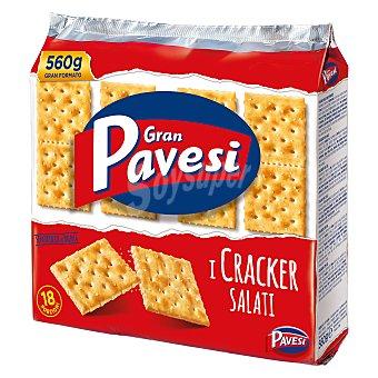 Gran Pavesi Cracker salados 560 g