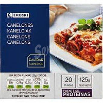 Eroski Canelón Caja 125 g
