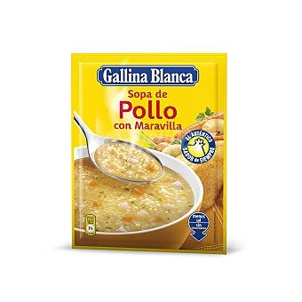 Gallina Blanca Sopa Maravilla de Pollo Sobre 85 Gramos