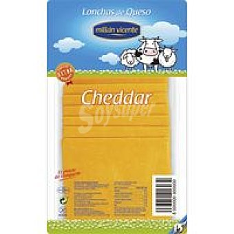 MILLAN VICENTE Lonchas queso cheddar 90 g