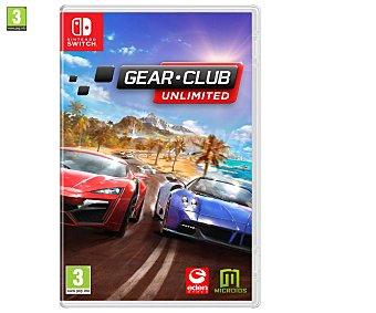 MERIDIEM GAMES Gear Club Unlimited Switch Gear Club Unlimited para Nintendo Switch. Género: carreras, conducción. pegi: +3