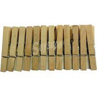 CUNCIAL Pinzas de madera grandes Paquete 24 unid