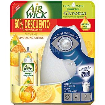 Air Wick Freshmatic Ambientador Compact I Motion automático cítrico aparato + recambio precio especial