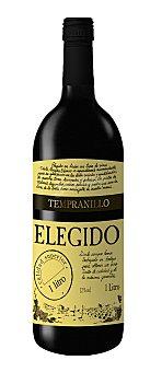 Elegido Vino Tinto de mesa Botella 1 litro