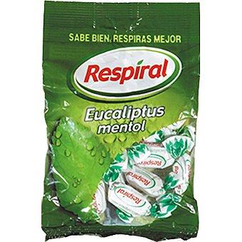 Respiral Caramelos de eucaliptus mentol con azúcar Bolsa 350 g