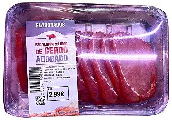 INCARLOPSA Cerdo lomo ibérico adobado filetes fresco Paquete 300 g peso aprox.