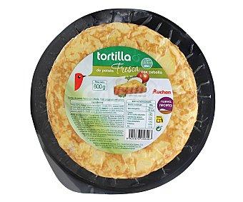 Auchan Tortilla con cebolla 600 gramos