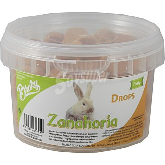 Braky Braky Drops Zanahoria 150 grs