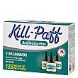 Recambios antimosquitos Kill-Paff 3 ud Kill-Paff