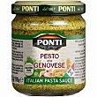 Salsa pesto genovese frasco 190 g Ponti