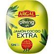 Jamón cocido oliving extra elaborado con aceite de oliva virgen extra Al peso 1 kg Argal