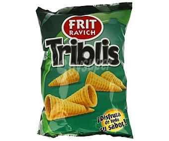 Frit Ravich Triblis, snack tridimensional (producto de aperitivo frito con sabor a queso y beicon) Bolsa de110 g