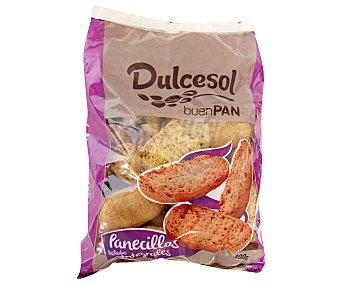 Dulcesol Panecillos Tostados Integrales 400g