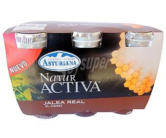 Naturactiva Leche fermentada con jalea real Pack 6 Unidades de 100 Gramos