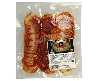 Mafresa Lomo ibérico de cebo (50% raza ibérica), cortado en finas lonchas 80 gr