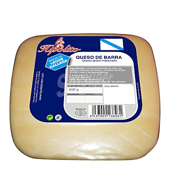 Hipólito Queso gallego de barra sandwich 650 g