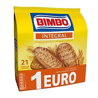 Bimbo Panecillos tostados nat.100% integral 234 gr