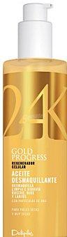 Deliplus Aceite facial desmaquillador gold 24 k Botella 240 cc