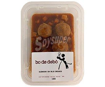Bo de Debò Albóndigas mixtas (cerdo-vacuno) con salsa jardinera 300 g