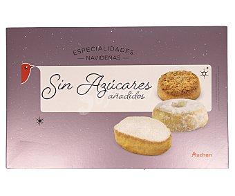 Auchan Polvorones y mantecados sin azúcares añadidos 350 gramos