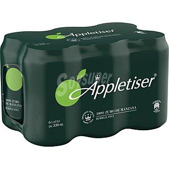 Appletiser Refresco de 100% zumo de manzana con burbujas finas pack 6 envases 33 cl pack 6 envases 33 cl