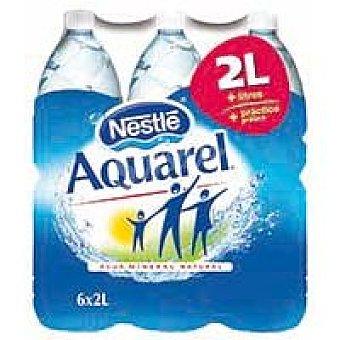 Aquarel Nestlé Agua mineral natural Pack 6x2 litros