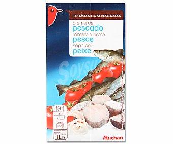 Auchan Sopa de pescado Brik 1 litro